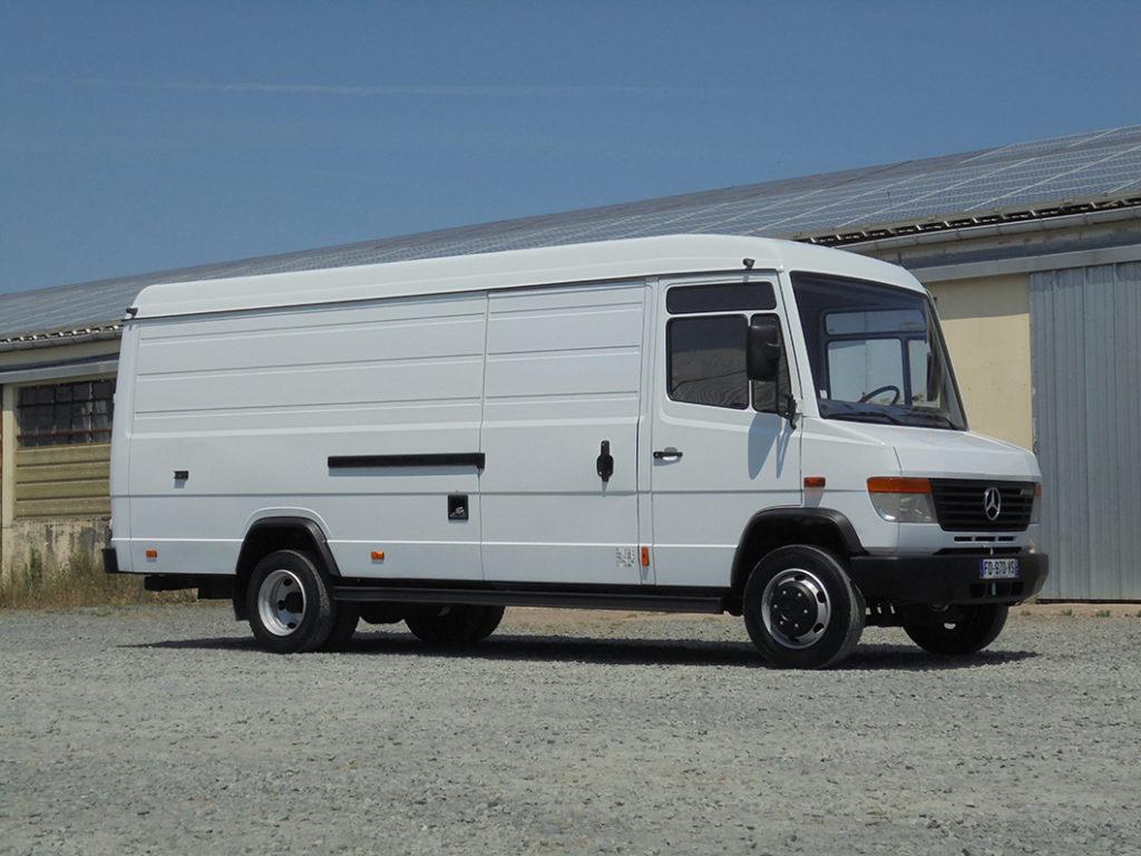 Mercedes 814 Vario fourgon 7 m