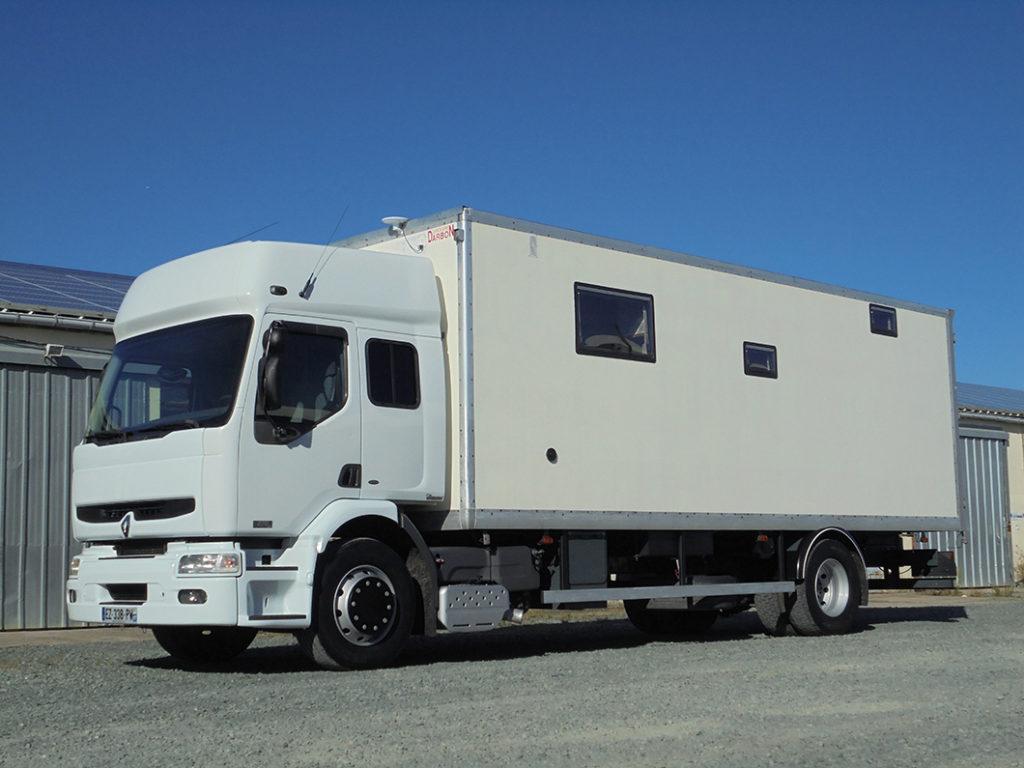 Renault Premium VASP caravane 6 pl