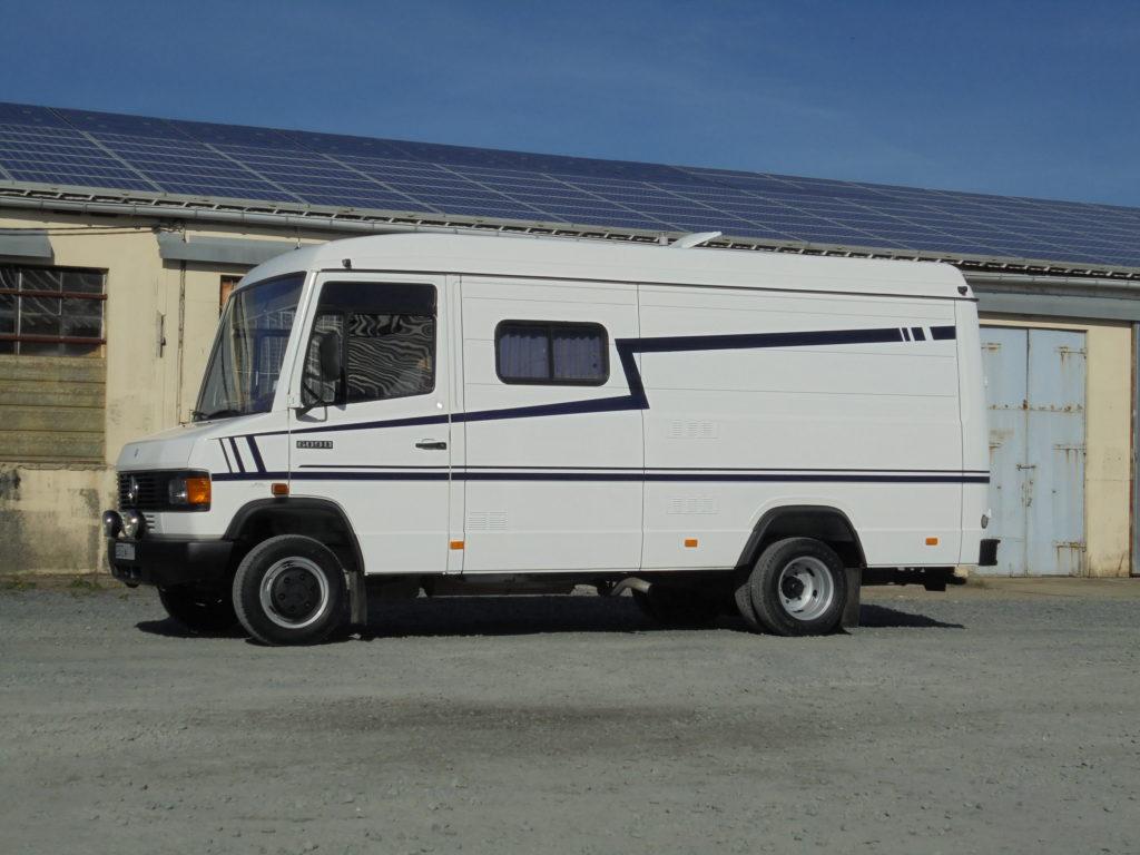 Mercedes 609 fourgon 6 m