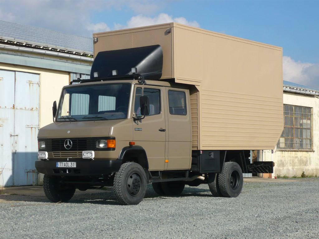 Mercedes 814 doka 4x4