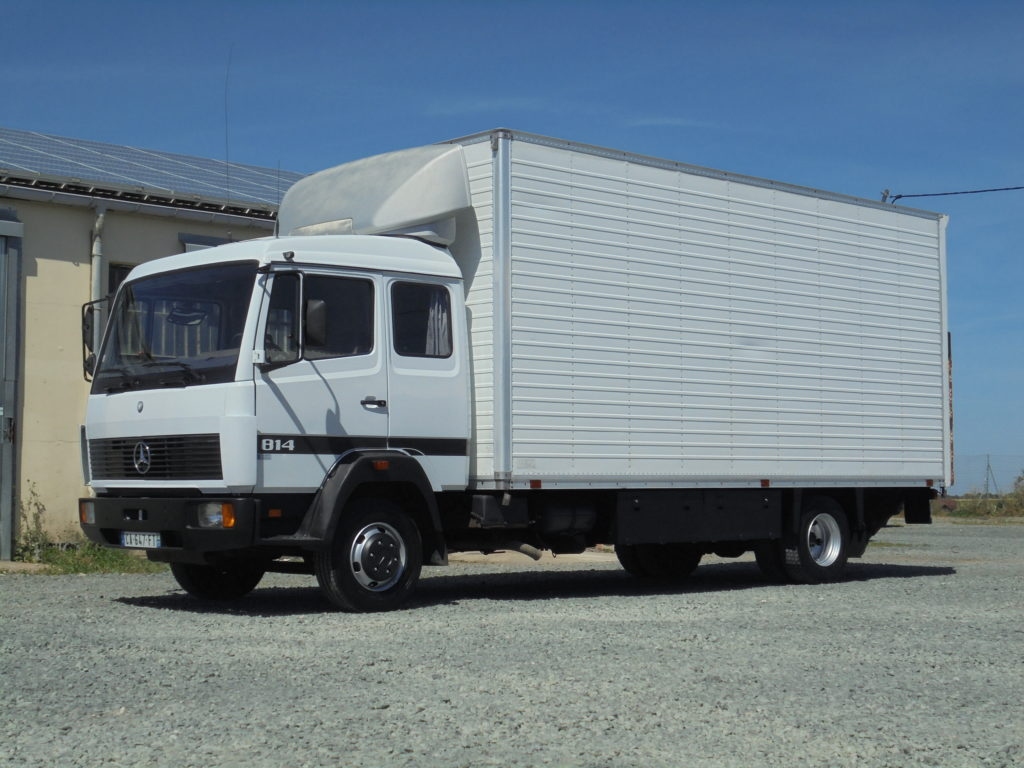 Mercedes 814 LK déménagement