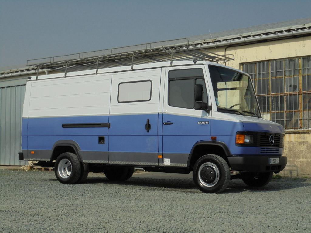 Mercedes 609 VL fourgon