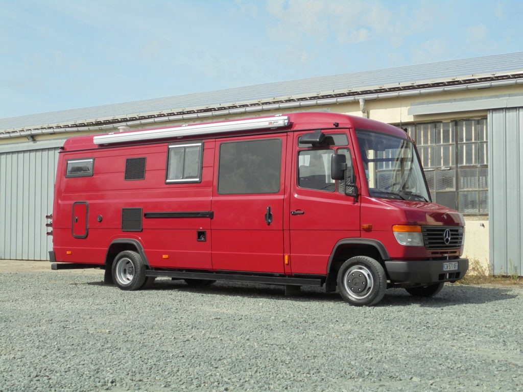 Mercedes 512 aménagé camping car