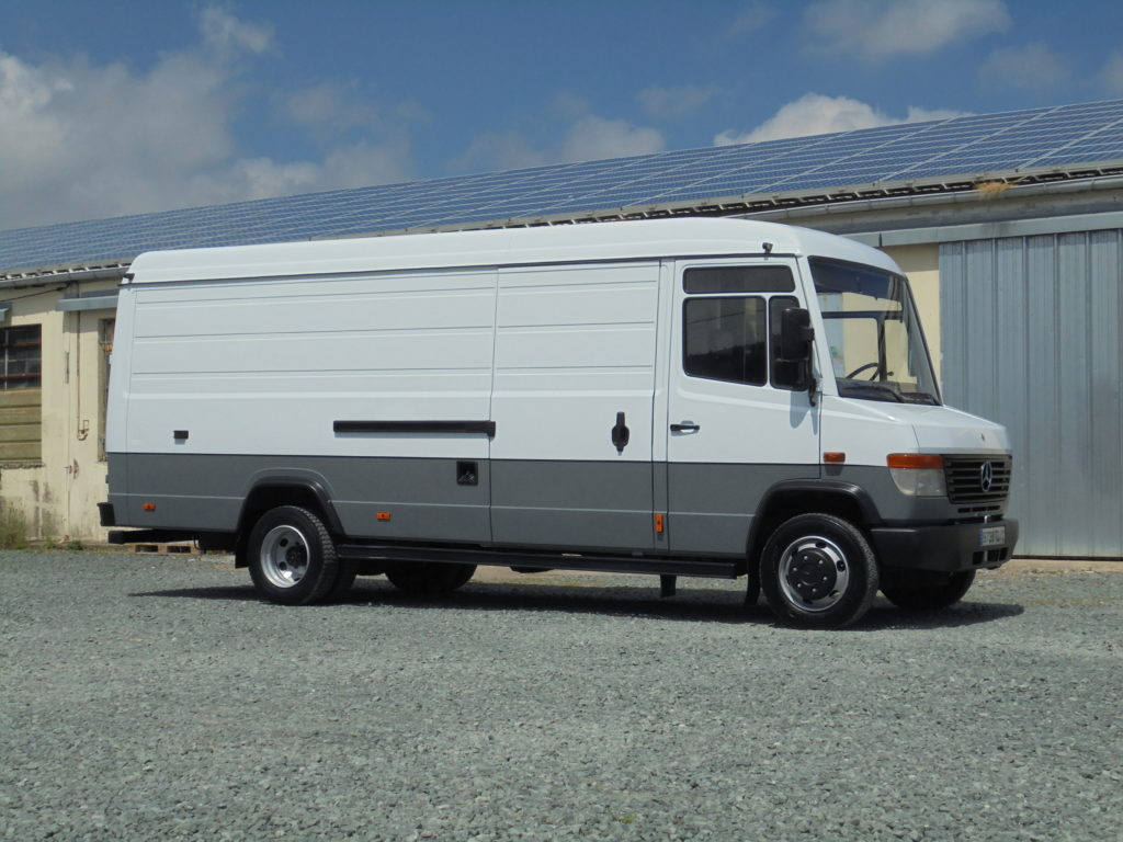 Mercedes 814 Vario fourgon