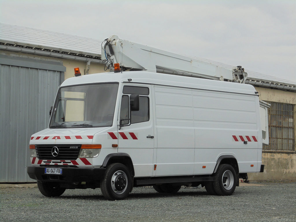 Mercedes 815 Vario 6 m