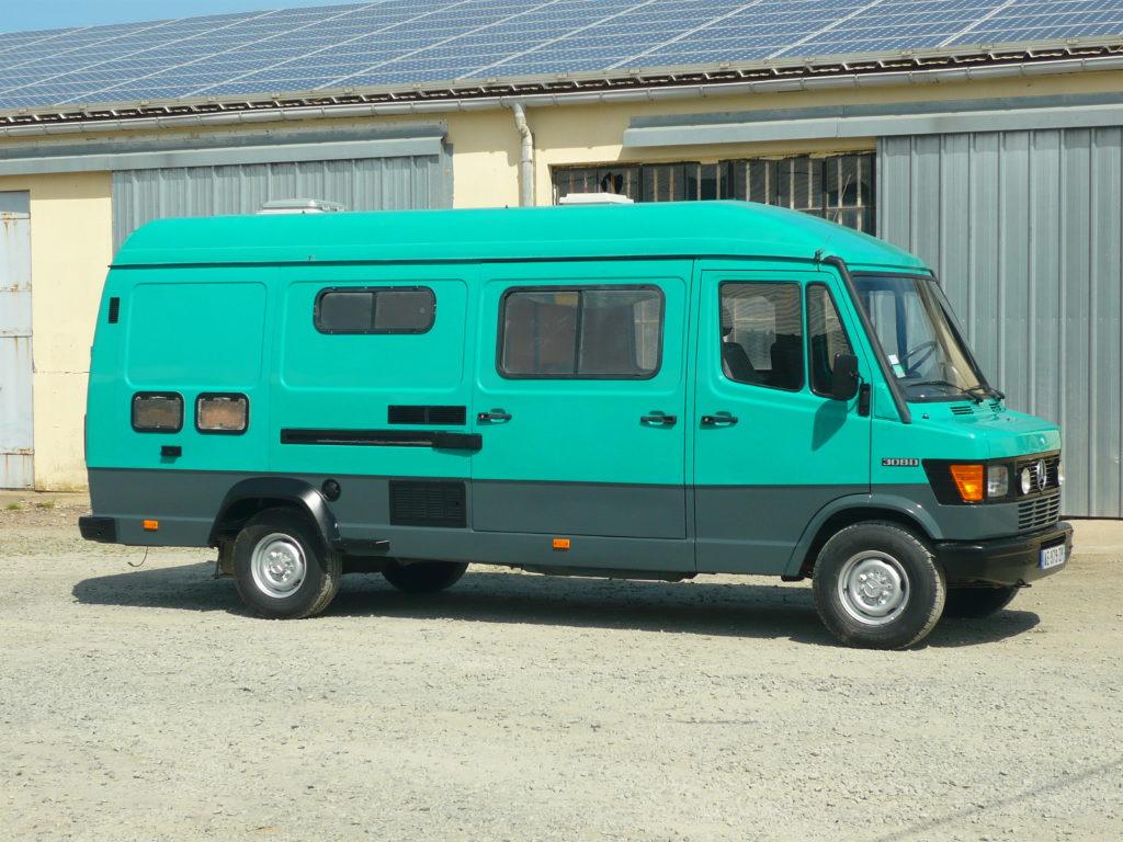 Mercedes 308 Rallongé camping car