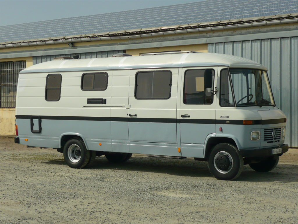 Mercedes 508 camping car 7 m