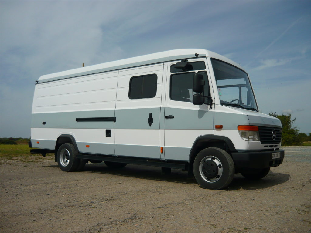 Mercedes 814 Vario atelier 6 places