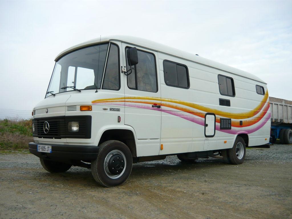 Mercedes 508 VASP caravane