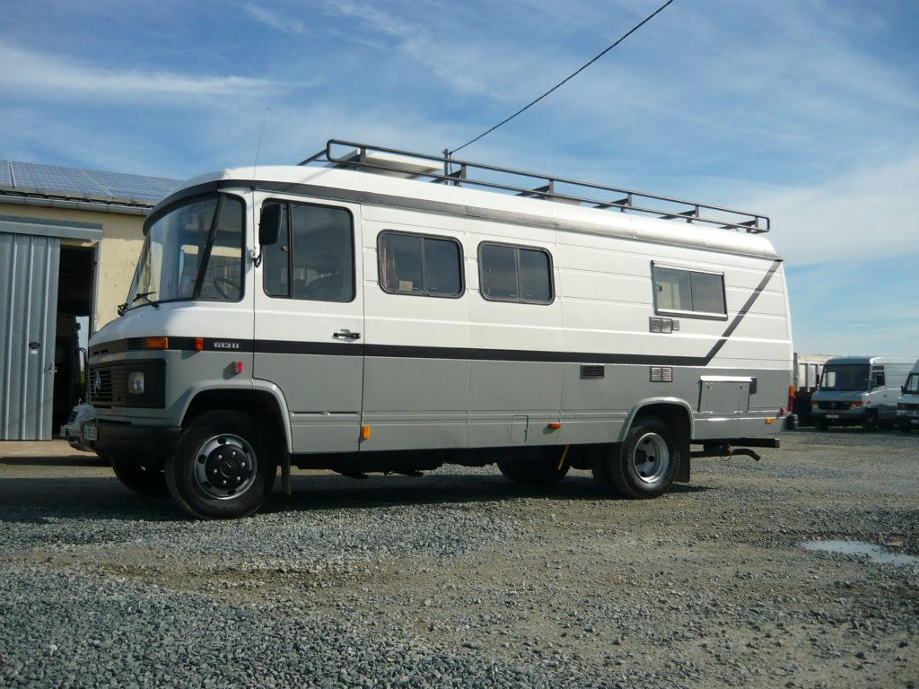 Mercedes 613 jumbo vasp caravane