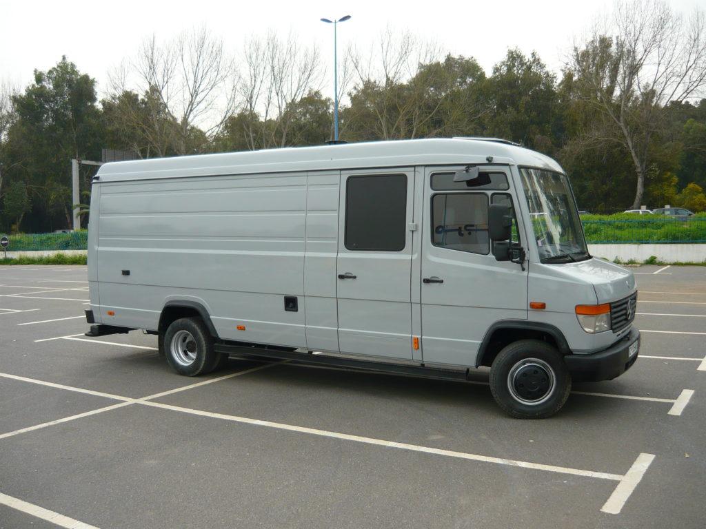 Mercedes 814 Vario atelier
