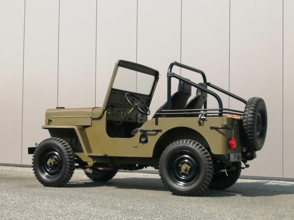 jeep willys CJ 3 B