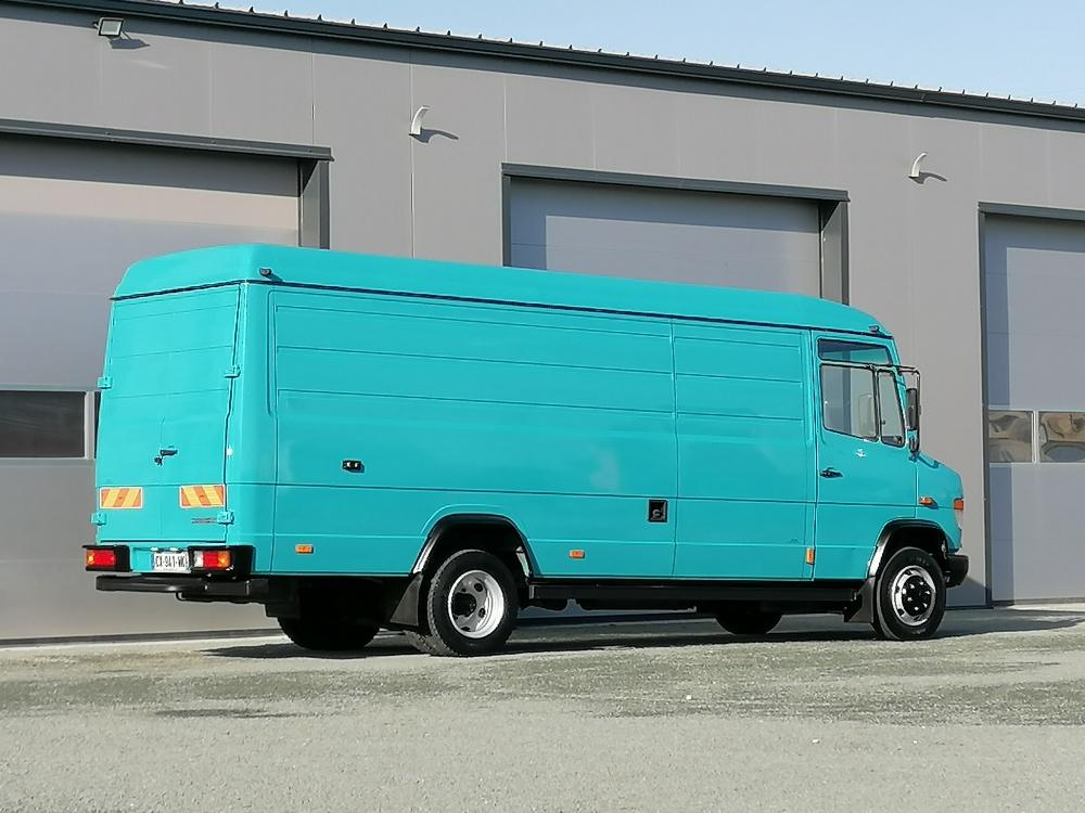 Mercedes 814 Vario maxi