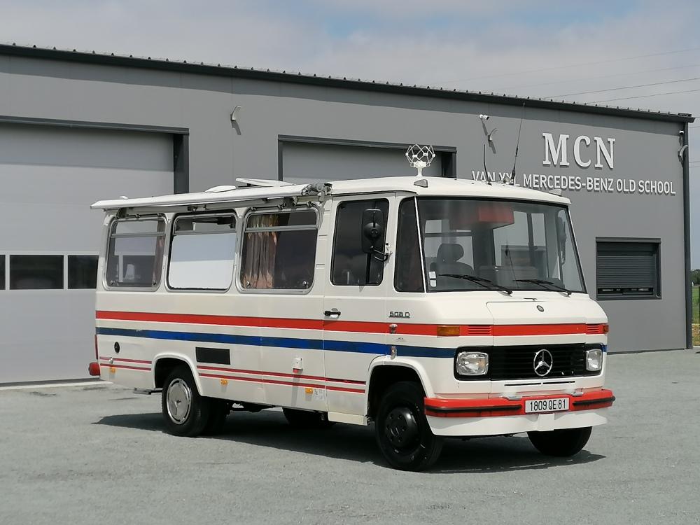 Mercedes L 508 D aménagé